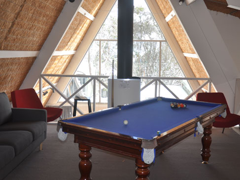 games room ripparoo lodge