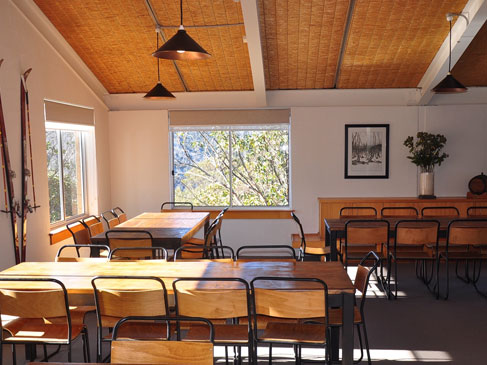 dining area ripparoo lodge falls creek