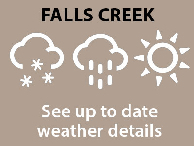 falls creek weather